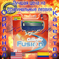 Оригинальные запасные лезвия Gillette Fusion 8 шт