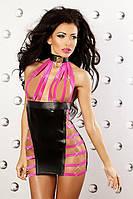 Яркое сексуальное платье Lolitta Extravaganza dress S/M, L/XL полиамид