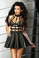 Эротичное платье Lolitta Excellent dress Лолита Экселент дресс S/M черный полиэстер