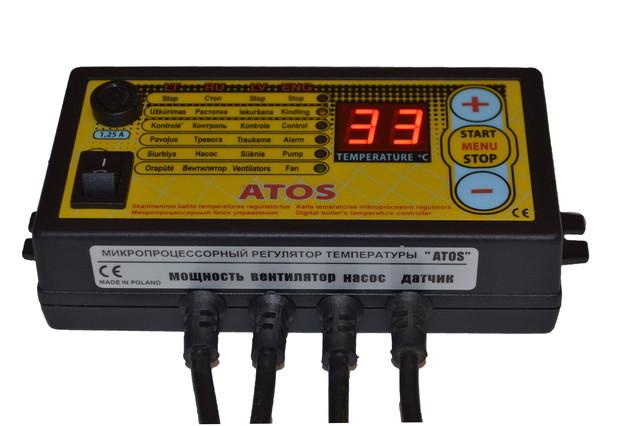 Автоматика Atos для твердопаливного котла