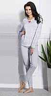 Пижама женская  Ksenia с длинным рукавом, S/44, TM Taro