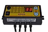 Комплект піддуву (Вентилятор WPA-120+контролер ATOS) автоматика для твердопаливного котла, фото 2