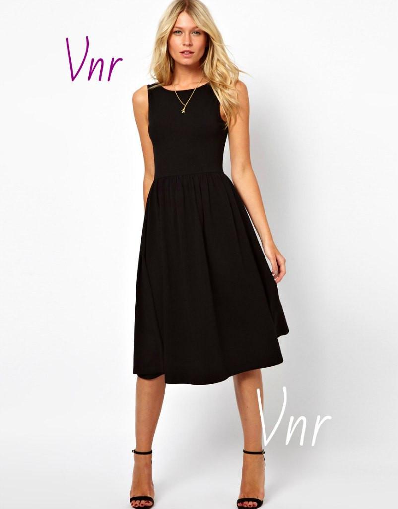 Стильное платье Ретро