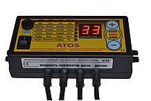 Командо-контроллер «АТОС» для котла на твердом топливе