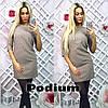 Женское платье в горошек, 3 цвета, фото 3
