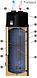 Насос тепловой с баком на 200 литров для горячего водоснабжения, фото 2