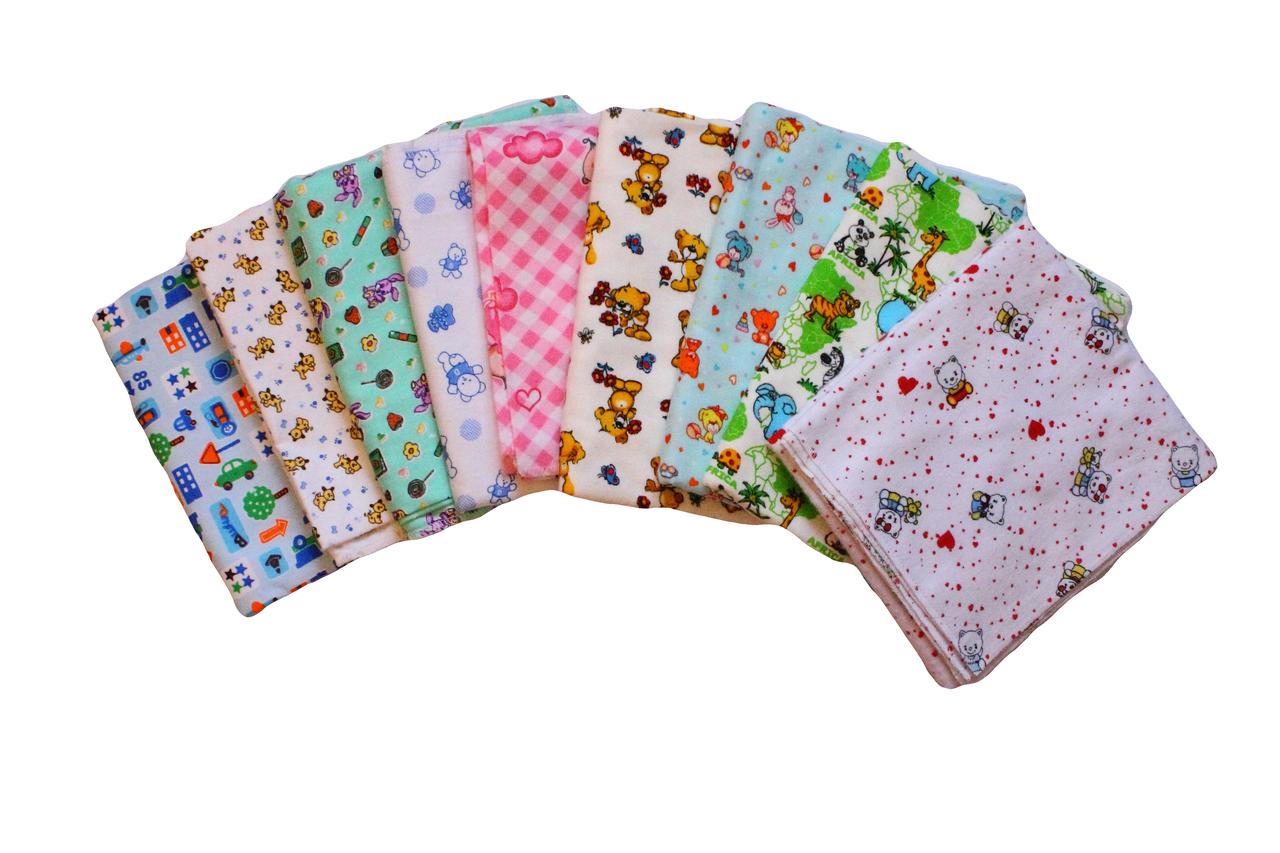Пеленки байковые 100х95 см - Интернет-магазин одежды и товаров для детей