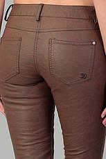 Женские кожанные джинсы от  TOM TAILOR в размере W31/L34, фото 3