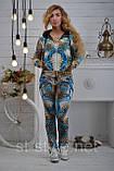 """Велюровий спортивний костюм жіночий """"BEZLO"""", розміри 42,44,46,48,50 , про-во Туреччина, фото 2"""