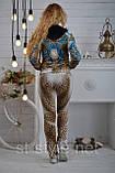 """Велюровий спортивний костюм жіночий """"BEZLO"""", розміри 42,44,46,48,50 , про-во Туреччина, фото 5"""