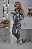 """Велюровий спортивний костюм жіночий """"BEZLO"""", розміри 42,44,46,48,50 , про-во Туреччина, фото 6"""