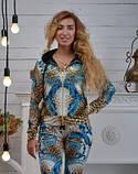 """Велюровий спортивний костюм жіночий """"BEZLO"""", розміри 42,44,46,48,50 , про-во Туреччина, фото 3"""