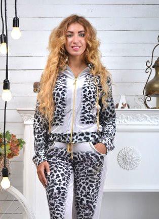 Велюровий спортивний костюм жіночий, розміри 42,44,46,48,50 , про-во Туреччина