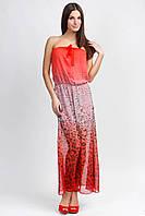 Платье шифон-леопард