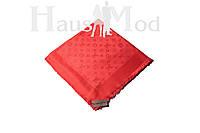 Женский  палантин Louis Vuitton 40330 Красный