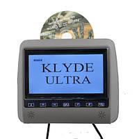 Подголовник с монитором и DVD-проигрывателем KLYDE Ultra 790 FHD Gray