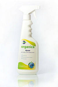 Cредство для чистки, обезжиривания любых типов поверхностей на кухне Organics Кухня, фото 2