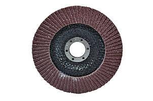 Диск шлиф, лепестковый 125*22 мм зерно 40 HTools, 62K104