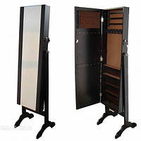 Зеркало - шкаф коричневое