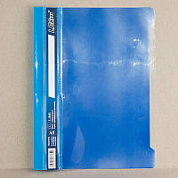 Скоросшиватель пластик. А4 LEO 3620 синий/голубой