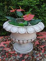 Садовая скульптура Большой цветочный горшок 49.5x49.5x39 cm
