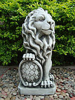 Садовая скульптура Лев 35.5x28.5x62.5 cm