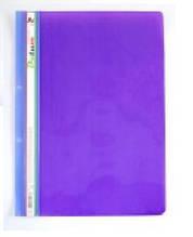 Скоросшиватель пластик. А4 LEO 3620 фиолет/сиреневый