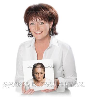 Женская накладка - система волос.
