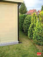 Дренажные трапы  ACO Gully для точечного сбора воды с водосточной трубы и территории вокруг дома