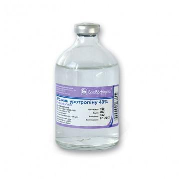 Раствор Уротропина 40% 50 мл (Бровафарма)