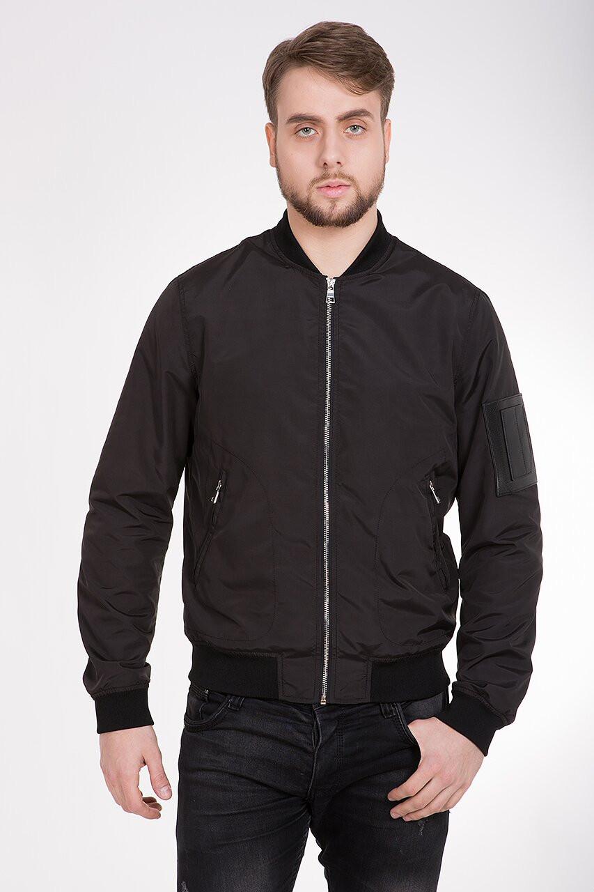 Легкая мужская курточка CLASNA CW17MW303 на весну и осень 50 размер
