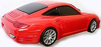 Мышка компьютерная беспроводная Porsche красная
