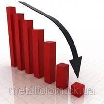Цена на черный металлолом стремительно падает.