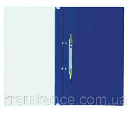 Скоросшиватель пластик. А4 DATUM-211/D2110 синий, фото 2