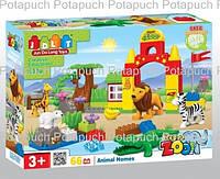 Конструктор детский Зоопарк 66 деталей JDLT 5030