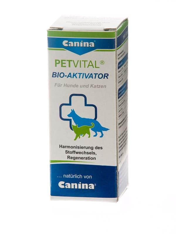 Canina Petvital Bio-Aktivator 20мл - для нормализации обмена веществ у собак и кошек  (712007)
