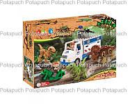 Детский пластиковый конструктор JDLT 5248 Динозавры