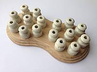 Ролик керамический ретро-форма (белый)