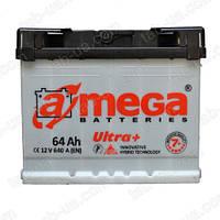 Аккумулятор автомобильный A-Mega ULTRA Plus 6ст-64 А/ч (0) 640En