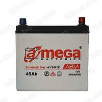 Аккумулятор автомобильный A-Mega Asia 6ст-45 А/ч (0)Jis 460En