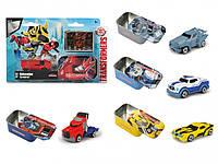 Машинка Die-Cast 7см + коробка, Transformers Dickie (311 3005)