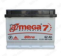 Аккумулятор автомобильный A-mega ULTRA  6ст-62 А/ч (1) 610En