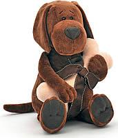Мягкая игрушка Пес Барбоська с косточкой 30 см Orange (OS071/20)