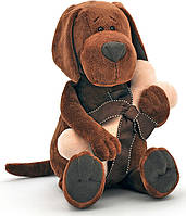 Мягкая игрушка Пес Барбоська с косточкой 30 см Orange (OS071/30)