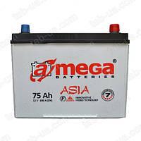 Аккумулятор автомобильный A-Mega Asia 6ст-75 А/ч (0)Jis 690En