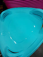 Тарелка ледянка. Чехия!!! PlastKon Meteor Санки на 50 кг. ледянки для детей,санки купить