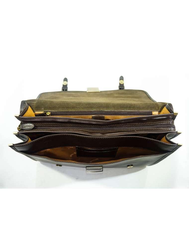 d2525c0caae1 Портфель katana мужской кожаный коричневый 31039: продажа, цена в ...
