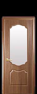Дверь межкомнатная ВЕНЗЕЛЬ СО СТЕКЛОМ САТИН