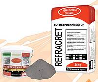 Огнеупорный бетон СБС-1250 (REFRACRET-42RC)