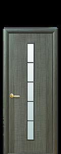 Дверь межкомнатная ДЮНА 1S СО СТЕКЛОМ САТИН